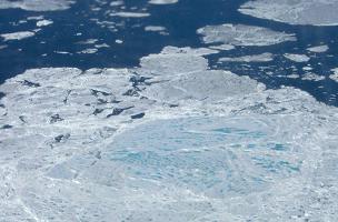 Sea Ice Rotten sea ice creates false impression of Arctic recovery