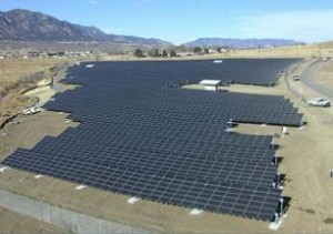 DoD Solar Array 300x211 US military: Climate change is a key security issue