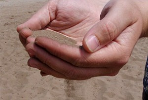 Sand in Hands 300x202 Politics threatens energy security