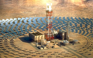BrightSource Solar Power Tower with Energy Storage BrightSource system can store suns energy for later use