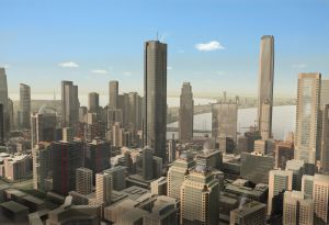 3D Imaginary City SeriousCapital offers building owners no money down efficiency