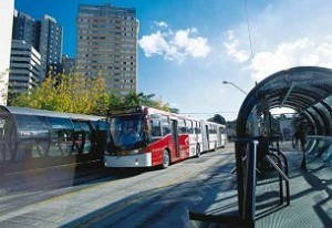BRT Volvo Curitiba 300x206 Are buses the key to efficient, green city transit?