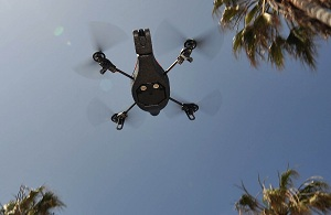 AR Parrot Drone Power out? Utilities could soon call on drones to help