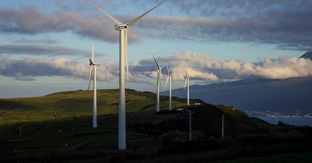 Faial Azores Wind Turbines 2