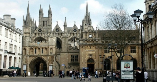 Peterborough Cathedral Square